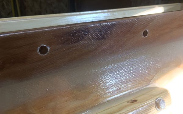 Overdrilled Holes