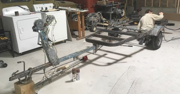 Stripped and Ready to Weld